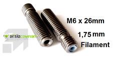 Hotend Extruder Schraube Thermal barrier tube/ 1.75mm Filament RepRap 3D Drucker