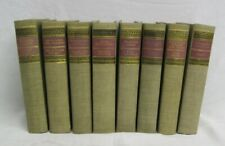 Decorative Vintage Books by Classic Club Library Plato Bret Harte Book Lot Of 8