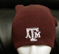 YOUTH NCAA Texas A&M Adidas Cuffless Knit Hat Beanie Cap FREE SHIPPING!