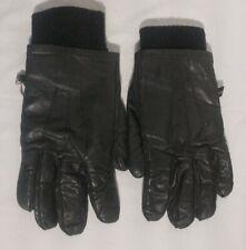 Gordini Genuine Leather Gloves Black - X Large