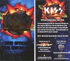 KISS 2010 KissPickWorld Trading Cards - 2 - NM/M!!! Official KISS Merchandise #1