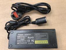 10 A 240 V Enchufe de alimentación de red encendedor de cigarrillos a DC coche cargador Power Adaptador 12 V