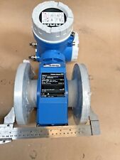 """*NEW*UNUSED* Endress Hauser Pro Mag W Flow Meter 50W80-LC0A1AA0AAAA. 8"""" FLANGE"""