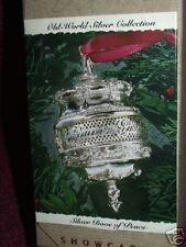 1993 Hallmark Ornament Old World Collection SILVER DOVE of PEACE