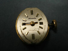 SWISS MADE VINTAGE NIVADA GRENCHEN MECHANICAL WATCH MOVEMENT *17 JEWELS* #JPS686
