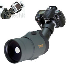 25-75x 5500mm Telescope M42 For Nikon D3x D90 D700 D60 D3 D300 D40x D40 Cameras