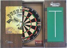 Winmau DUAL CORE Blade 5 FIVE Dart Board & Bushranger Ned Kelly Cabinet +6 Darts