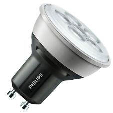 Philips Cool White 4000k Master Value 4.3W = 50W LED Dimmable GU10 Bulb 40D x 10
