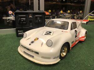 Robbe #3407 Super Sports 1:12 Porsche Carrera RSR, kompl. mit RC, Vintage 80er