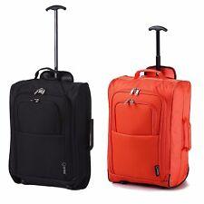 Set of 2 Ryanair & easyJet Trolley Cabin Hand Luggage fits 55x40x20 56x45x25cm