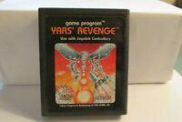 Vintage Atari Yar's Revenge by Atari  - cartridge only FREE SHIPPING