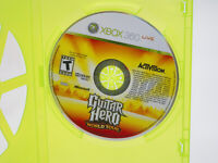Guitar Hero World Tour XBOX 360 DISC ONLY TESTED FREE SHIPPIN G
