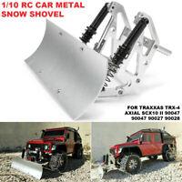 Alloy Snow Shovel Plow Blade For Axial SCX10 SCX10ll Traxxas TRX4 1/10 RC  ☜