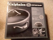 Calphalon Contemporary Hard-Anodized 5 Qt Dutch Oven with Lid