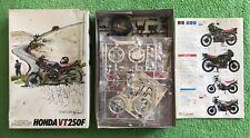 BANDAI(FUMAN)1/12 MOTO Motorcycle HONDA VT250F # 35006-800 VT 250F & FREE GIFT!