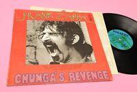 Zappa LP CHUNGA'S REVENGE Orig US 1970 EX+ Blue Bizarre Label! Gatefold Cover