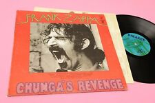 ZAPPA LP CHUNGA'S REVENGE ORIG US 1970 EX+ BLUE BIZZARRE LABEL ! GATEFOLD COVER