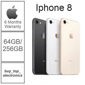 NEW Apple iPhone 8 64/256GB AU STOCK UNLOCKED 6 MONTH WARRANTY FREE EXPRESS POST