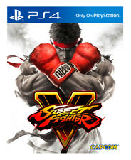 Street Fighter V (Sony PlayStation 4, 2016) PS4 NEW! FREE SHIPPING