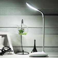 LED Tischlampe mit Touch-Dimmer, Kabellos USB Aufladung Nachtlampe Lampe