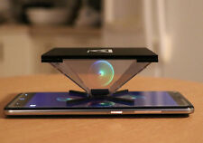 3D HOLOGRAM PYRAMID FOR IPAD 1 2 3 4 OFFICE GADGET HD ANDROID IOS APPLE IPAD