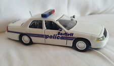 Road Champs Bartlett Police Diecast Vehicle 1:43 Scale 1999