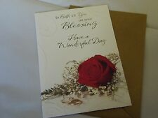 To Both Of You On Your Blessing......Have A Wonderful Day......Greetings Card.