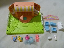 VINTAGE G1 MY LITTLE PONY PETITE PONIES HAPPY HOOF MARKET PLAYSET 1989 HASBRO >>