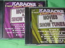Movie & Show Tunes ~ 2 Disc SPECIAL ~ Karaoke Chart Toppers ~ Hello Dolly ~ CD+G