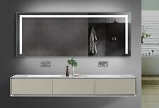 Badezimmerspiegel mit LED Beleuchtung in Warm/Kaltweiß und Steckdose TSL180-70