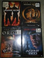 Agent Red RARE DOLPH LUNDGREN & Van Damme ACTION DVD LOT 4 BRAND NEW MOVIES