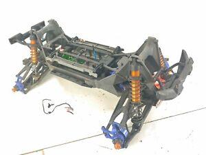 *UPGRADED* TRAXXAS X-MAXX 8S ORANGE 1/5 MONSTER TRUCK 4WD ROLLER SLIDER