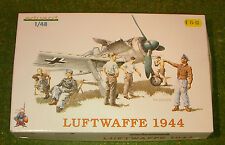 EDUARD 1/48th SCALE WORLD WAR II GERMAN LUFTWAFFE 1944 (CREW ONLY) MODEL KITS
