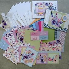 BOHO BLOOMS FLORAL FLOWERS BOTANICAL 6x4 A5 CARD PAPER PACK #2 60+ PIECES
