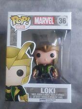 Funko Pop Marvel Loki #36 Vaulted