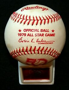 1979 RAWLINGS ORIGINAL UNUSED ALL-STAR GAME @ SEATTLE BASEBALL & DISPLAY STAND 5