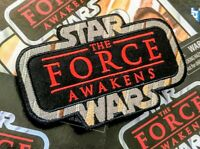 "STAR WARS ""The Force Awakens"" Kenner Vintage Collection style toy logo patch"