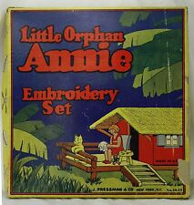 Vintage Little Orphan Annie Embroidery Set ca1930