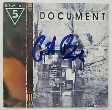Peter Buck Signed R.E.M. No 5 Document CD Booklet Guitarist LEGEND RAD