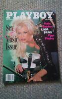 046 Playboy April 1998 Linda Brava Sex & Music Magazine