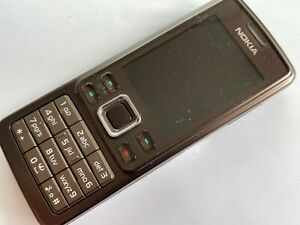 Nokia 6301 - Coffee (Unlocked) Mobile Phone
