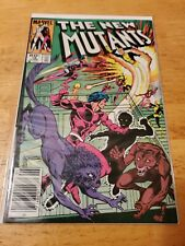 The New Mutants #16 1st Appearance Of Warpath