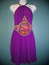 Urban Outfitters Embroidery Party Backless Dress NWT