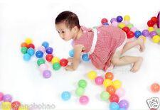 1 pcs colorful ball Soft Plastic ocean ball funny baby kid Swim Pit Toy 5.5cm