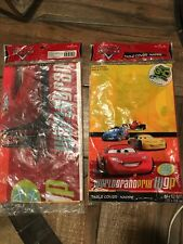 Disney CARS ~ (2ea) Plastic Table Cover ~ Birthday Party Decorations- NEW-SEALED