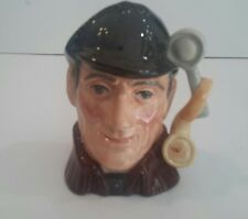 Vintage Royal Doulton The Sleuth Small Character Jug D6635 1972 4.35 Inch