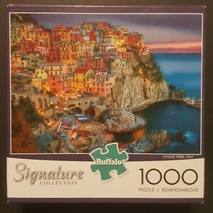 1000 PIECE PUZZLE Buffalo Games Signature Collection Cinque Terra, Italy (2015)