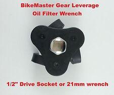 BikeMaster Motorcycle Gear Leverage Oil Filter Wrench Triumph BMW Uni