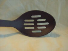 PAULA DEEN STURDY SLOTTED SPOON KITCHEN COOKING TOOLS UTENSIL BLACK NON STICK