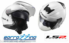 Casco Jet Ls2 Of521 Infinity Gloss White XL